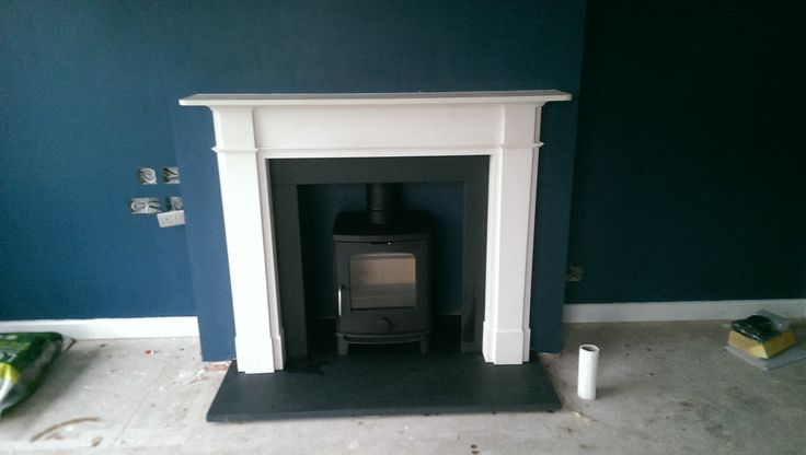 Scan Andersen 4-5 in a Chesney's fireplace. - Wendron Stoves Ltd