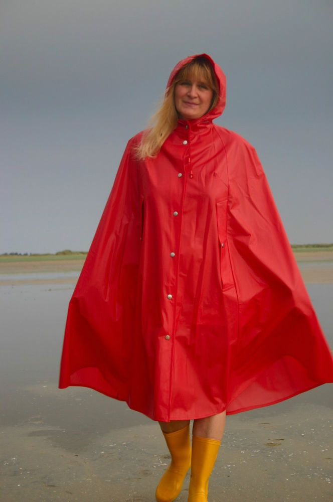 Rukka Regencape Rain Cape Lackmantel PVC Vintage ...