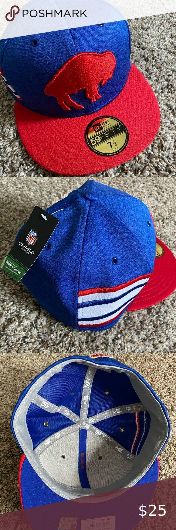 Nwt Buffalo Bills Onfield New Era Cap Brand New With Tags Buffalo Bills Official On Field Ball Cap Size 7 1 4 New Era Acces In 2020 New Era Cap New Era Clothes Design