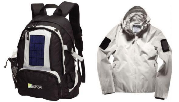 mochilas com placas solares