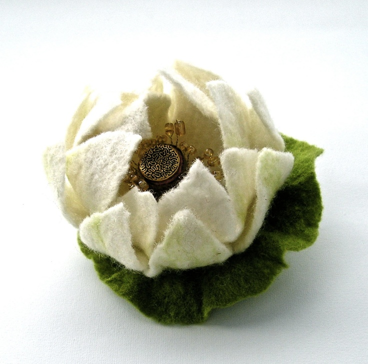 17 Best Images About Felted Flowers On Pinterest