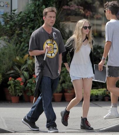 Amanda Seyfried and ''Dexter'' star Desmond Harrington seen walking hand-in-hand in East Village, New York City.