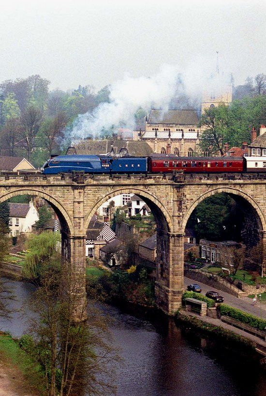 Knaresborough Viaduct, England. I live here and cross this bridge by train often.