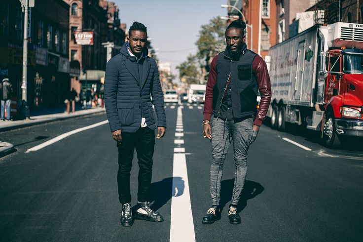 Image of Streetsnaps: Joshua Kissi & Travis Gumbs Present the Armani Exchange Black Edition Capsule Collection
