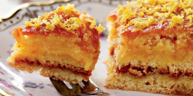 Глазированный пирог с лимонным кремом : Выпечка : Кулинария : Subscribe.Ru