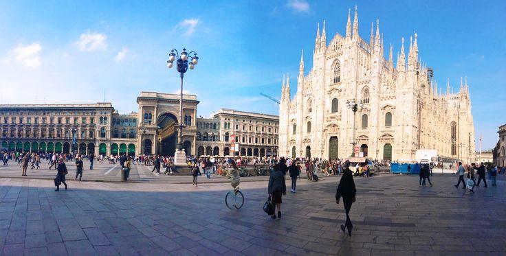 Duomo di Milano in the morning