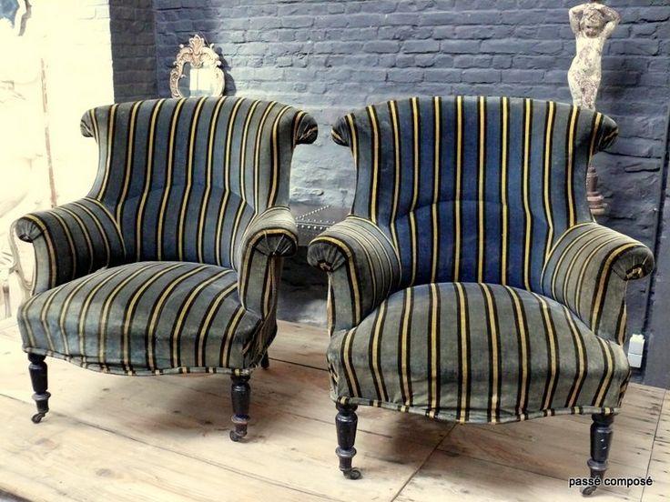 1000 id es sur le th me fauteuil anglais sur pinterest couvre chaise fauteuil romantique et. Black Bedroom Furniture Sets. Home Design Ideas