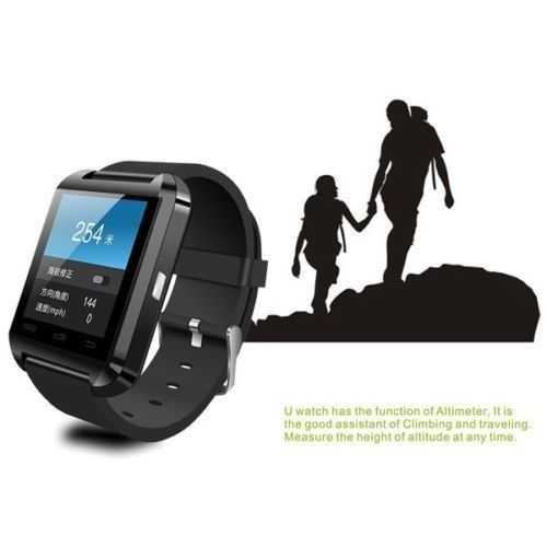 """Sudroid Bluetooth Smart Wrist Watch Phone For Samsung Galaxy S3 S4 S5 Note3 , HTC, Nokia other Android Smart Phones (Black) 19.99  #1.48""""CapacitiveTouchScreenTFTLCD #AndroidSystemcansupportallfunctioninthedescription;BUTIOSonlysupport:Passometer,Calendar,CallSync,Calculator,Clock,Stopwatch..."""