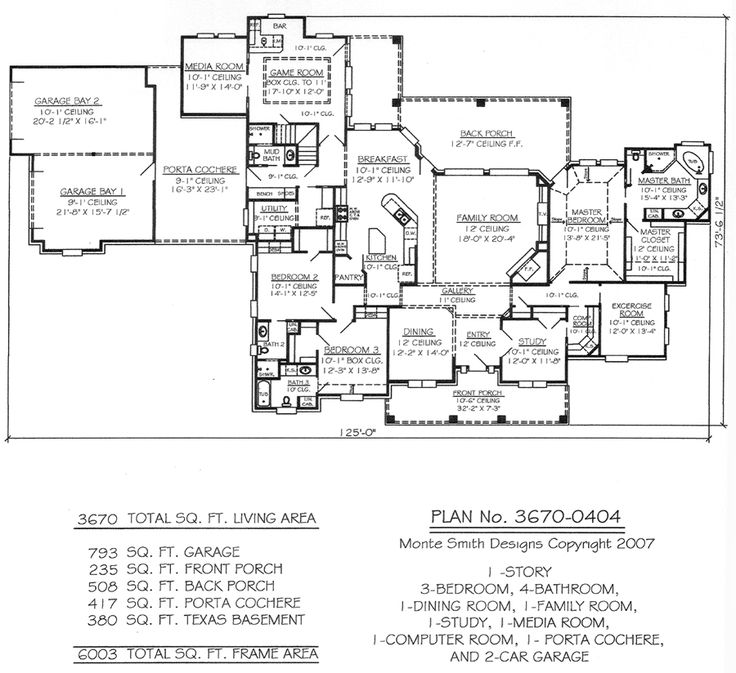 House Plans With Media Room 155 best plans i heart images on pinterest | dream house plans