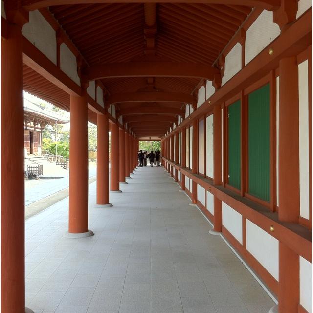 奈良・薬師寺 回廊