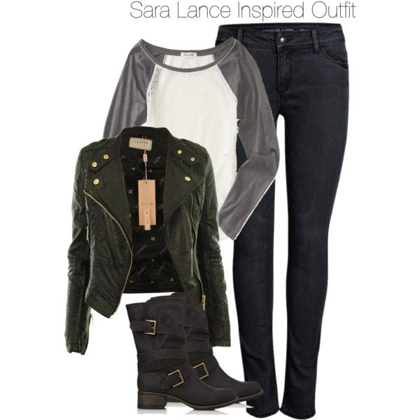 Arrow - Sara Lance Inspired Outfit
