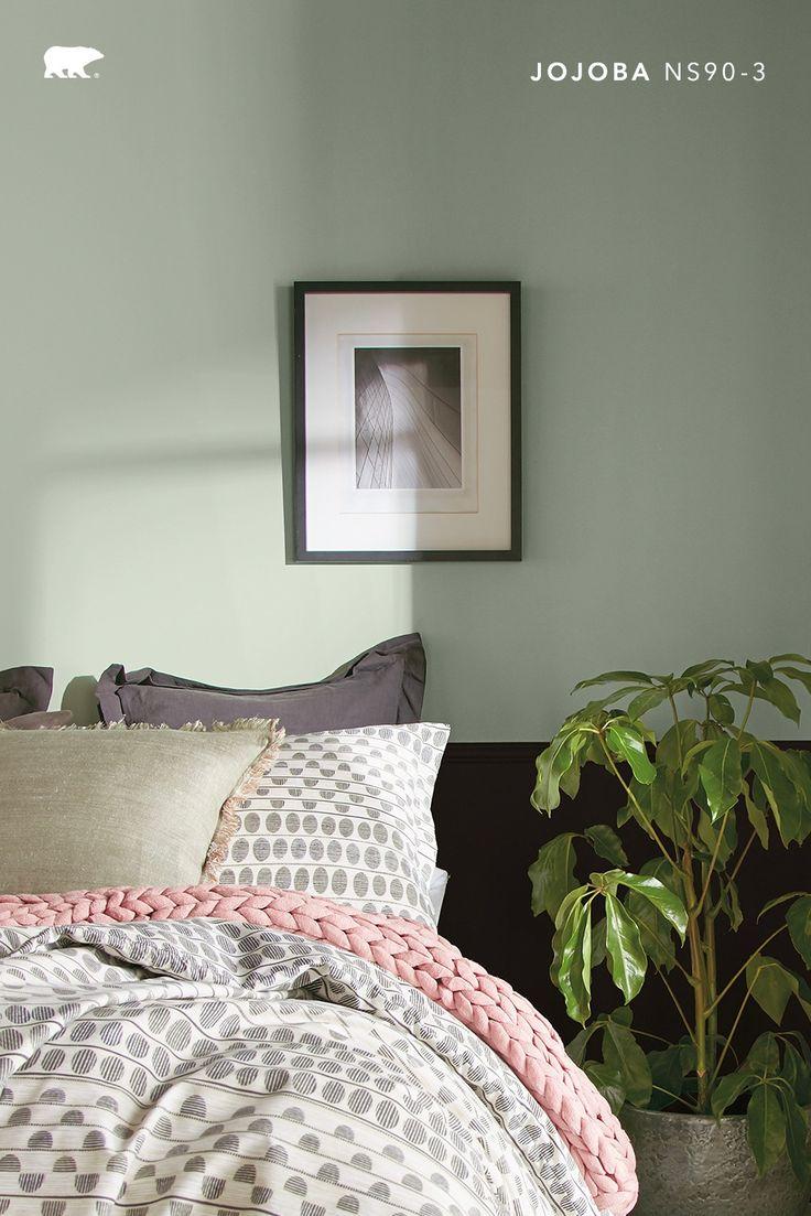 Calm Zone Palette In 2021 Behr Paint Colors Bedroom Trending Paint Colors Green Color Trends [ 1103 x 736 Pixel ]