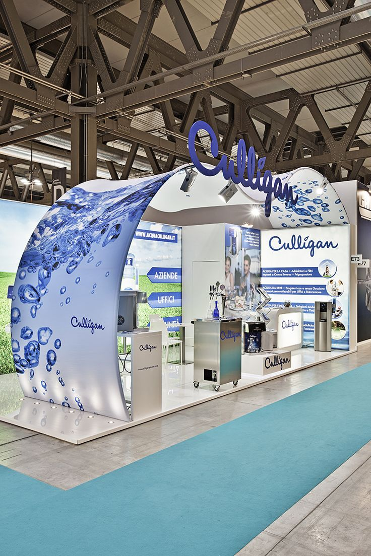 Culligan - Host Milano #architecture #fabric #design #stand #retail #temporary #fair #booth #structure #white #sustainability