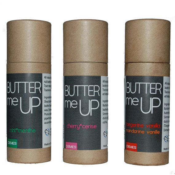 Butter Me Up  TRIO SET. Vegan Natural Cruelty-Free by demes