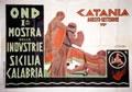 Catania - Prima Mostra Delle Industrie Sicilia Calabria