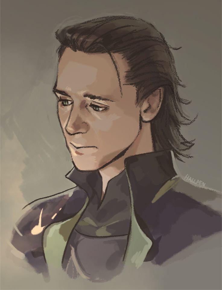 Loki by *Hallpen on deviantART
