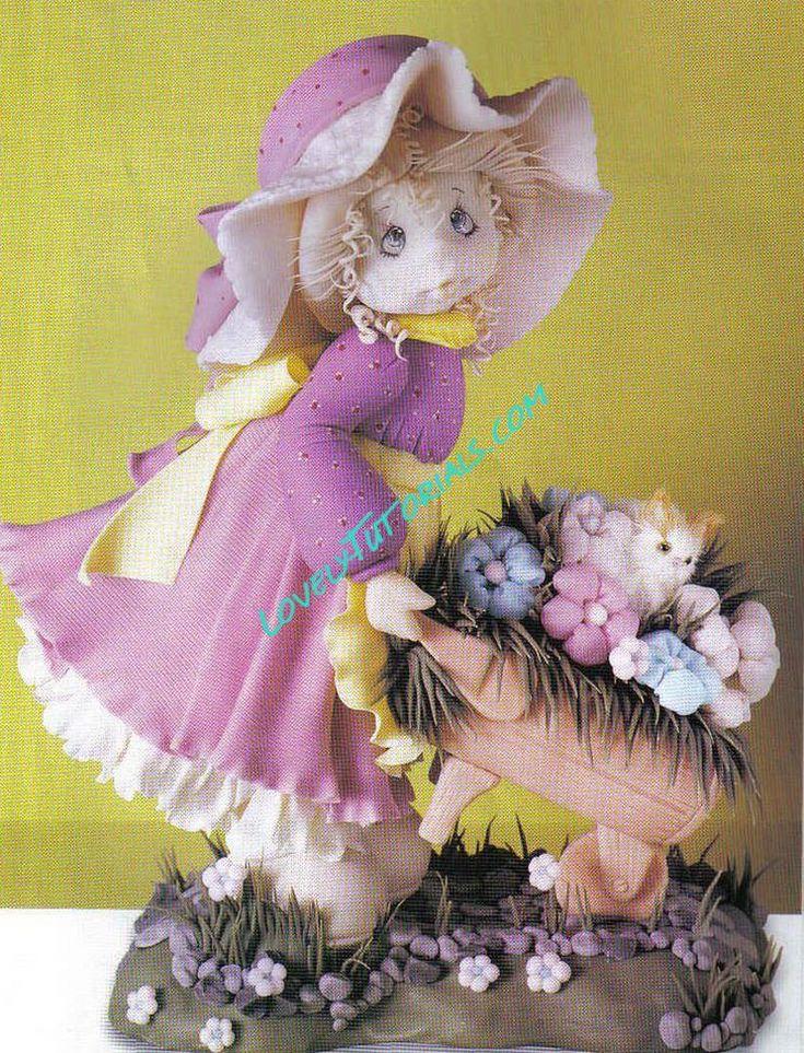 Kako oblikovati djevojka figuricu kako napraviti  Proljeće  Pinterest  Tut...