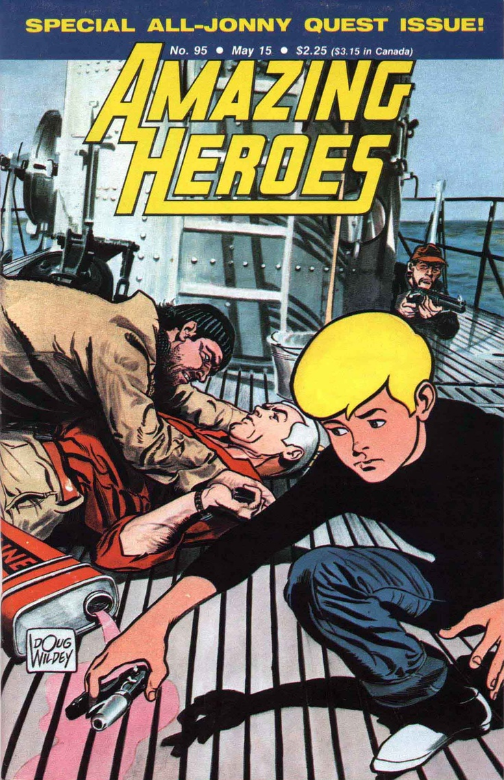 Amazing Heroes featuring Jonny Quest
