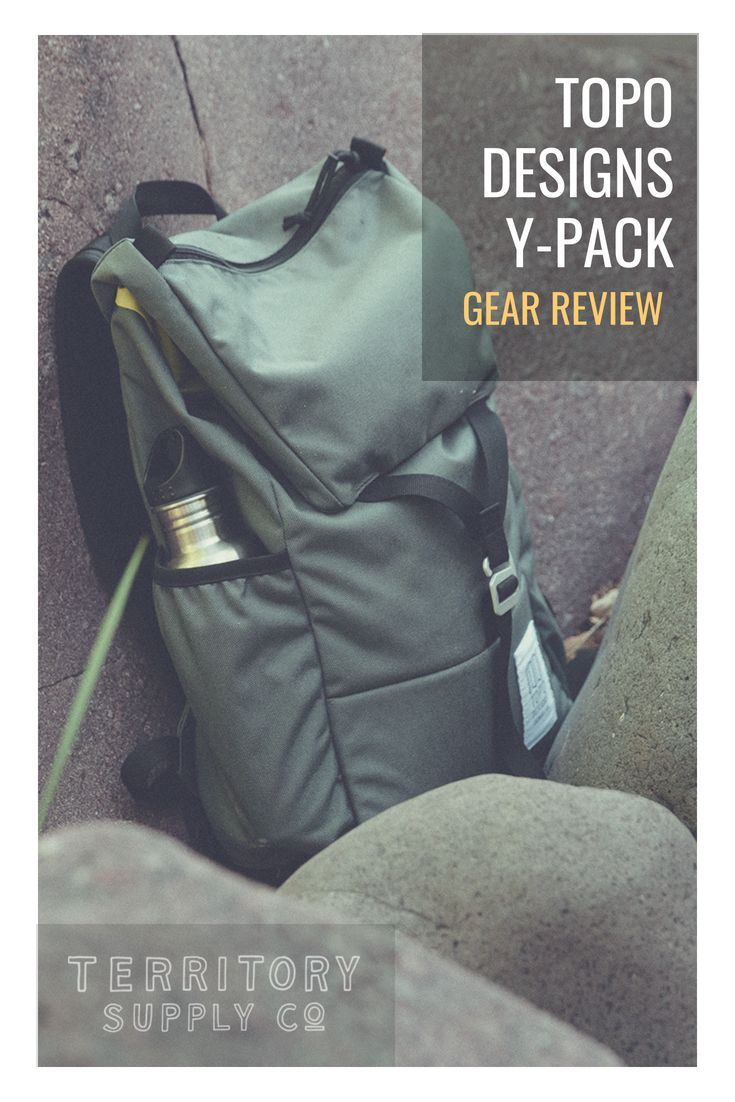 e5dd0e7b9 Topo Designs Y-Pack Backpack Review | Sports & Outdoors | Backpack ...