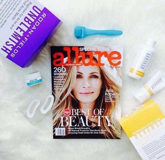 Allure named 5 Rodan & Fields products in their Best of Beauty Issue - October 2015 #rodanandfields #skincare