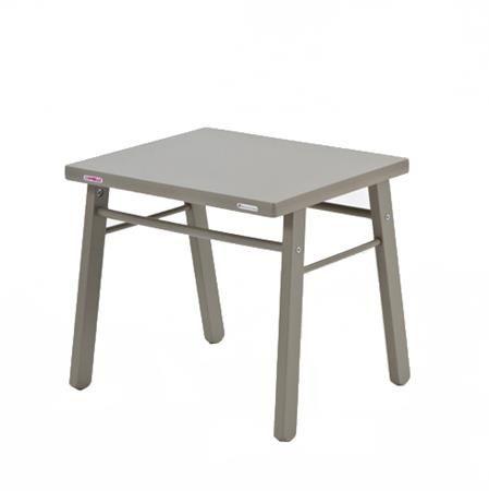 Table d´enfant, bois laqué gris