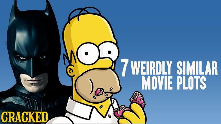 7 Weirdly Similar Movie Plots (The Dark Knight Rises The Simpsons Movie)