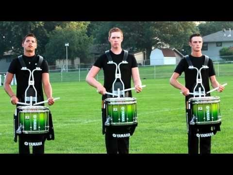 Cavaliers Drumline 2011 @ DCI in Omaha ~ luv drumline :D