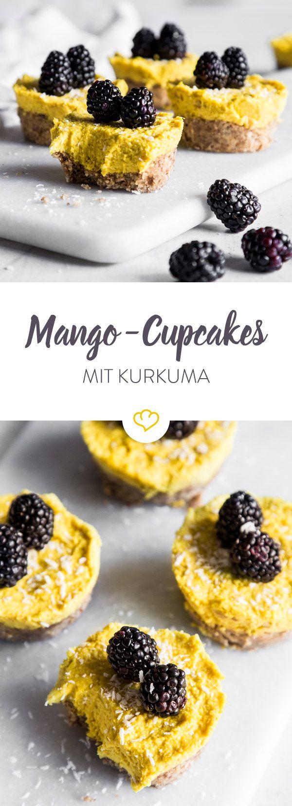 Cupcakes mit kalorienreicher Cremehaube waren gestern - ab heute isst du gesunde Cupcakes ohne schlechtes Gewissen.