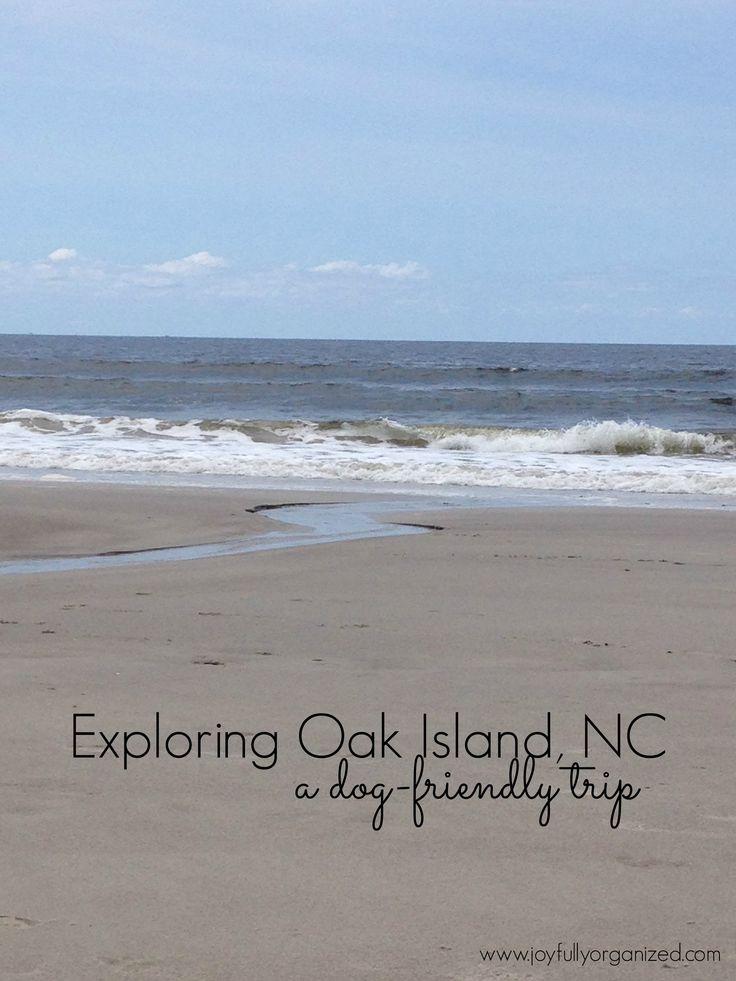 Exploring Oak Island, NC // Dog-Friendly