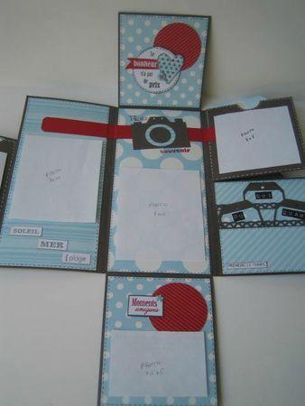 """Mini """"Souvenirs d'été"""" de Everly Scrap : http://scrapadonfblog.canalblog.com/archives/2013/08/01/27767506.html  voir tuto"""