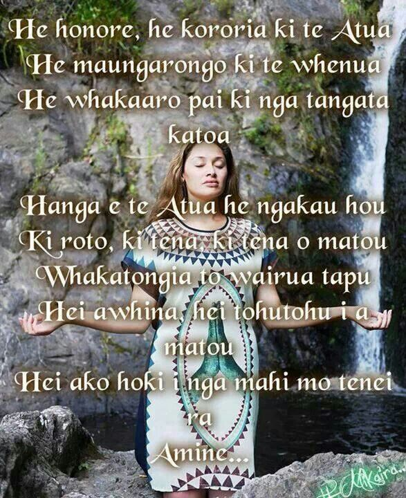 Pin By Summah Mo On Wedding Ideas Non Decor: 11 Best Te Reo Māori Karakia Images On Pinterest