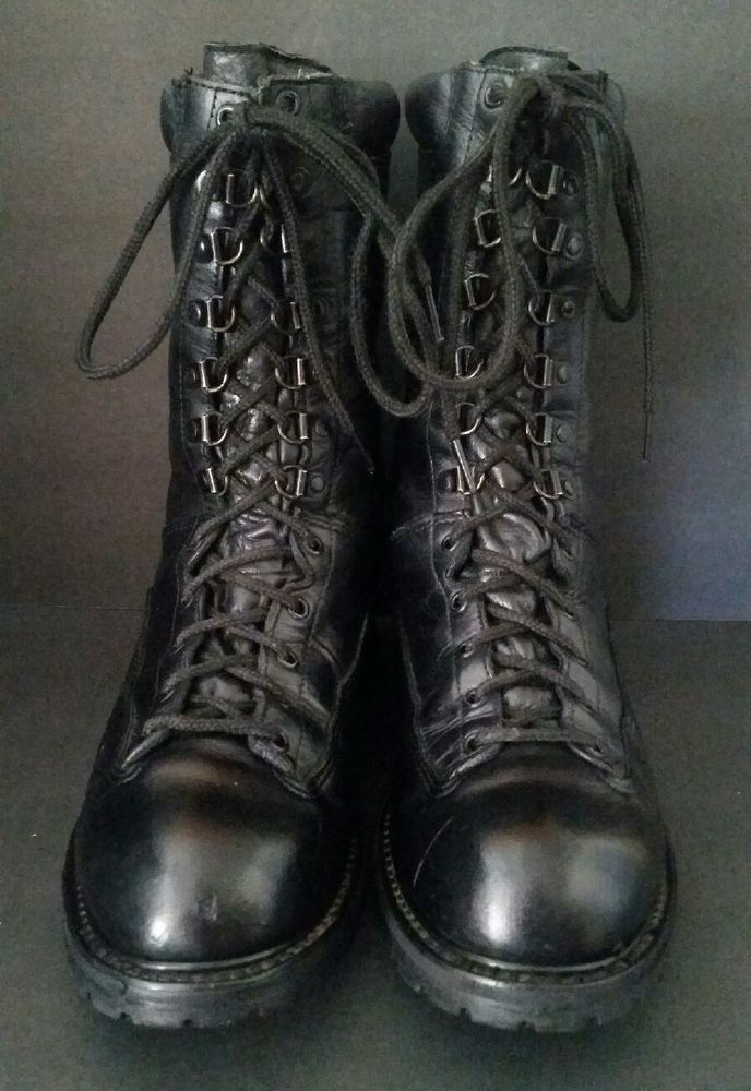 Matterhorn Boots 10 Inch Black With Gore Tex 1949 Mens Size US 11.5 M USA #Matterhorn #WorkSafety