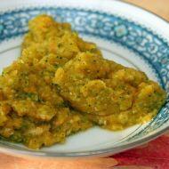 Fotografie receptu: Příkrm kuře s dýní, brokolicí a fenyklem