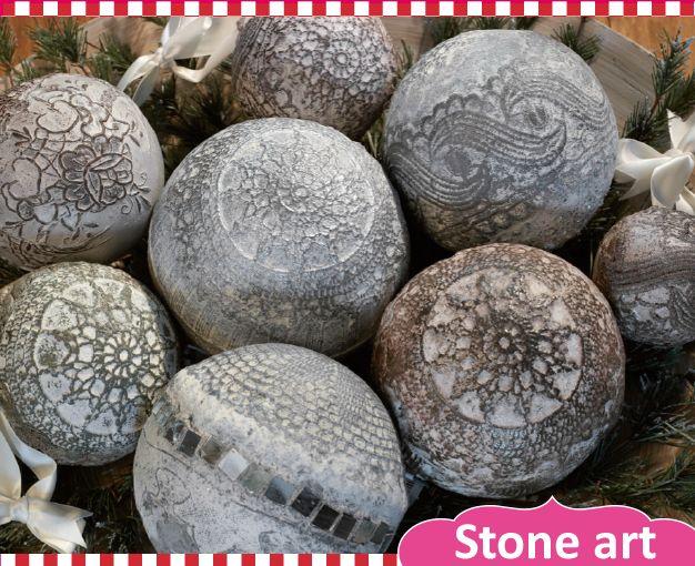 Powertex • Stone art