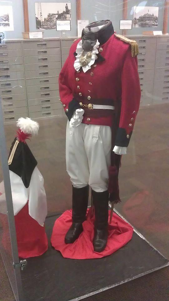 Replica of Major General Sir Issac Brocks Uniform.