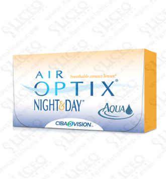 LENTES DE CONTACTO CIBA VISION AIR OPTIX NIGHT & DAY 6 UNIDADES