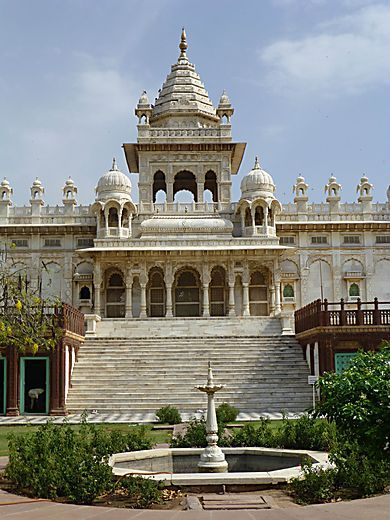 Inde - Marches du Jaswant Thada