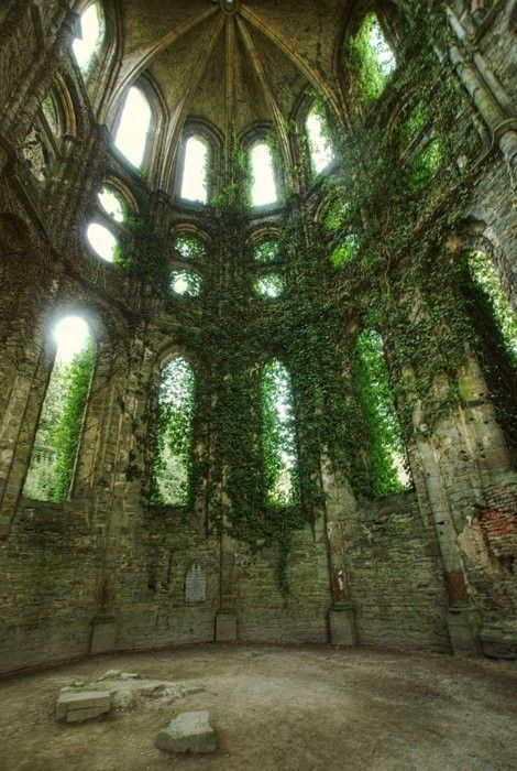 Villers Abbey, Belgium (1146, abandoned 1796)