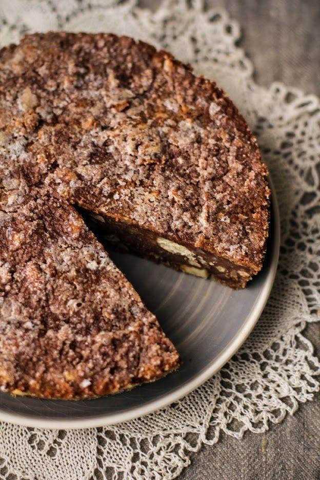 La torta di pane al cacao - easy bread cake