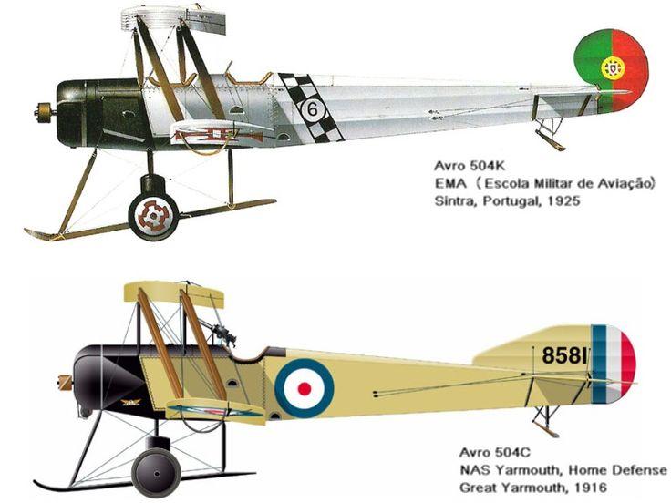 . . . O Avro 504 foi um dos mais bem sucedidos biplanos cuja origem remonta ao inicio da Primeira Guerra Mundial. A sua produçã...