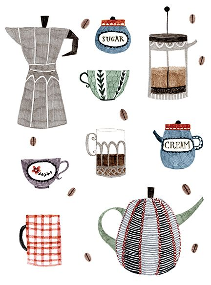 Abigail Halpin: Coffee and Tea