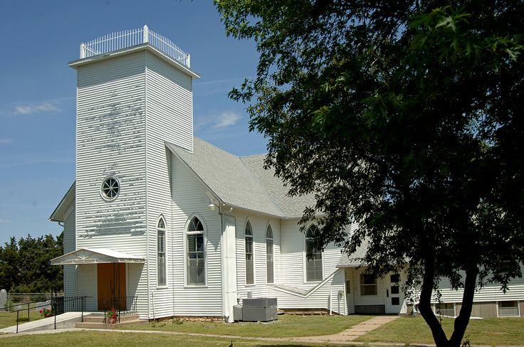 Peace Church, Barton County, KS, by Ted Lee Eubanks