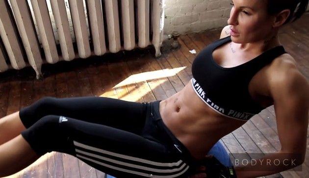 Быстрые, интенсивные и отлично сжигающие жир тренировки bodyrock.tv