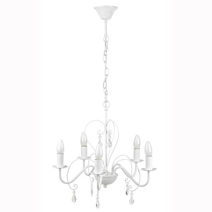 https://luminaire.jaccessoirise.com/lustres/lustres-classiques/lustre-blanc-classique-5-lumieres-avec-cache-douille-et-pampilles-en-verre-transparent-mandy.html