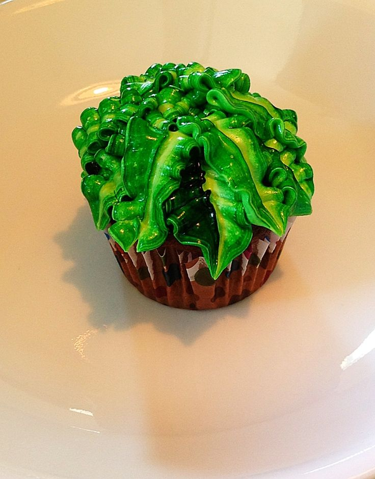 How To Make Palm Tree Cupcakes Things My Sister Has