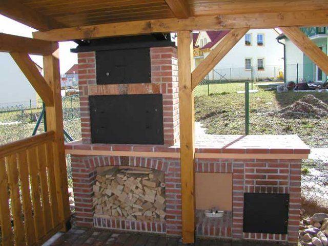 KRBYCB - zahradní krby, stavba krbu, krbové vložky, České Budějovice - Zahradní krby