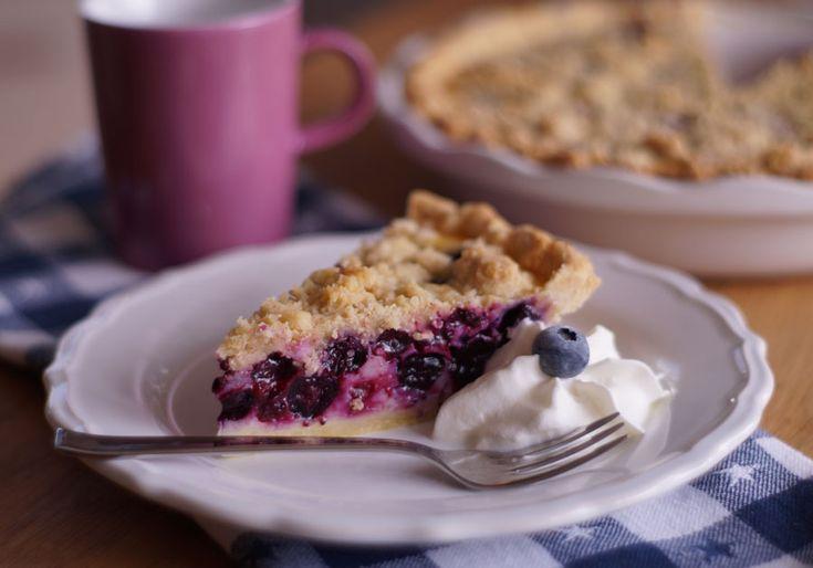 Blueberry Cream Pie (Blaubeerkuchen)