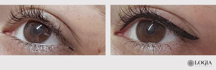 Φ TRATAMIENTO: MICROPIGMENTACIÓN OJOS Φ  Info & Cita previa 93 250 61 68 o email a info@logiabarcelona.com #logiabarcelona #tatuaje #tattoo #micropigmentacion #ojos #eyeliner #eyelinertattoo #maquillaje