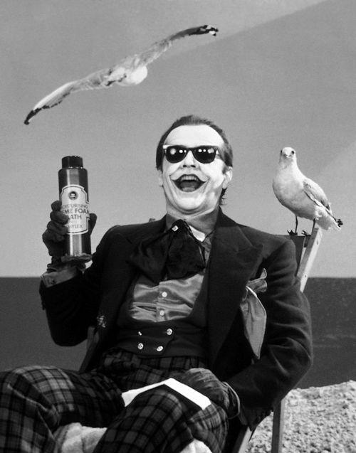 Jack Nicholson as the Joker
