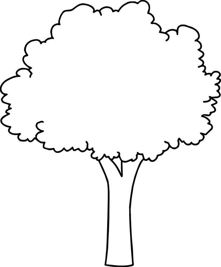 крыму деревья контур картинка стрижки